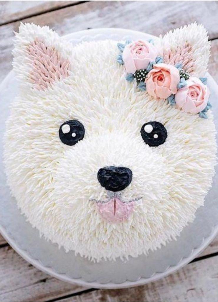 Bolos Infantis de Animais Cachorro 2