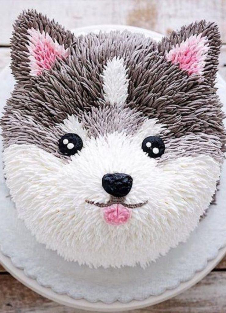 Bolos Infantis de Animais Cachorro