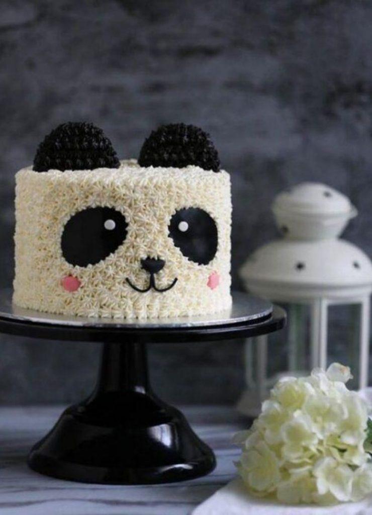 Bolos Infantis de Animais Panda