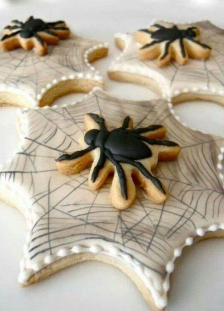 Doces de Halloween Aranha