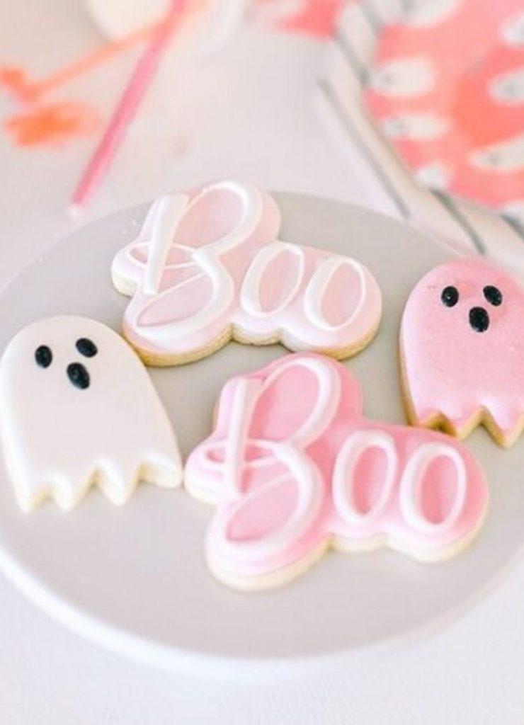 Doces de Halloween Boo