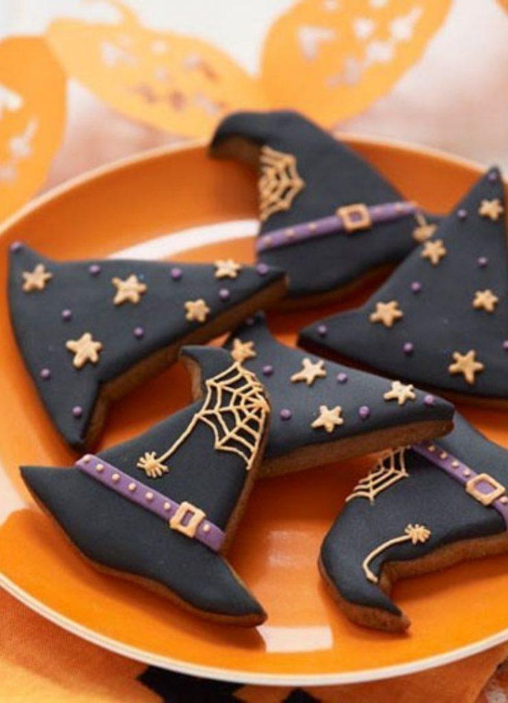 Doces de Halloween Chapéu de Bruxa