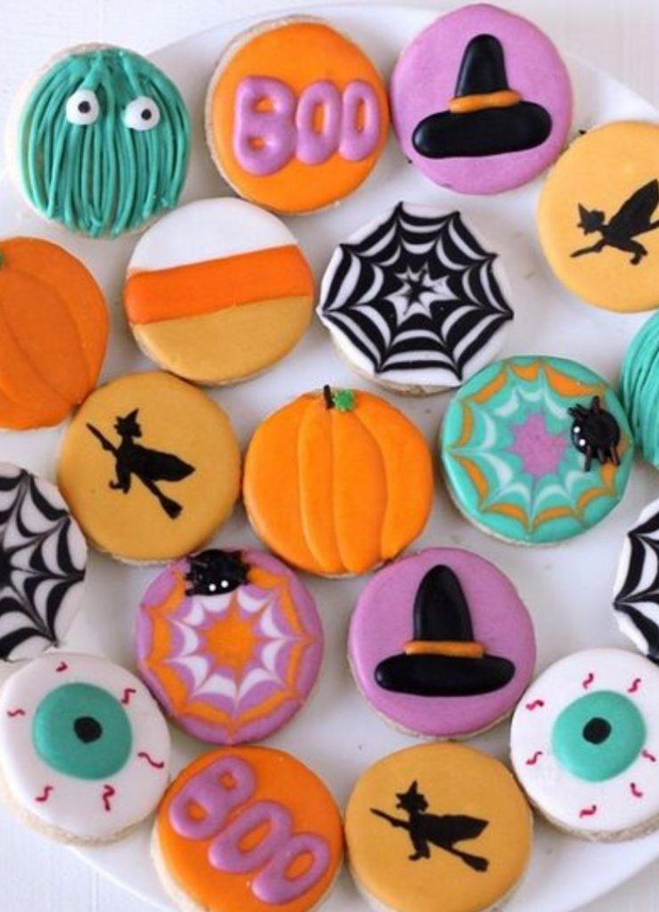 Doces de Halloween Colorido