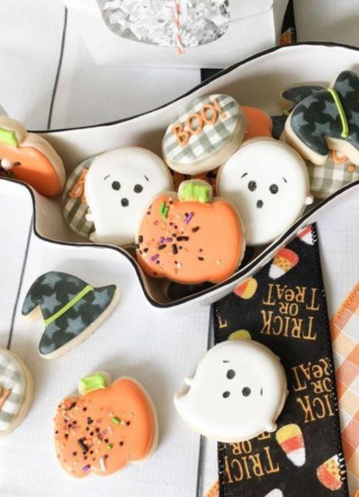 Doces de Halloween Cute 2