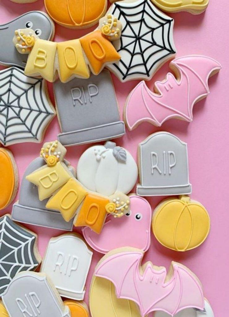 Doces de Halloween Cute