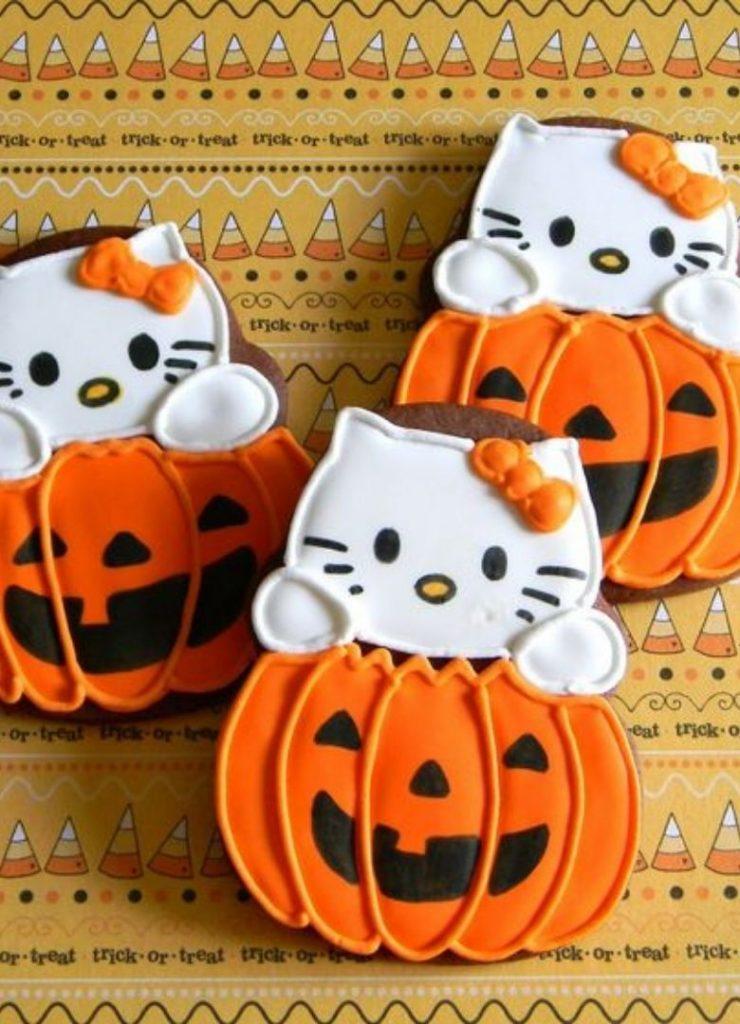 Doces de Halloween Hello Kitty