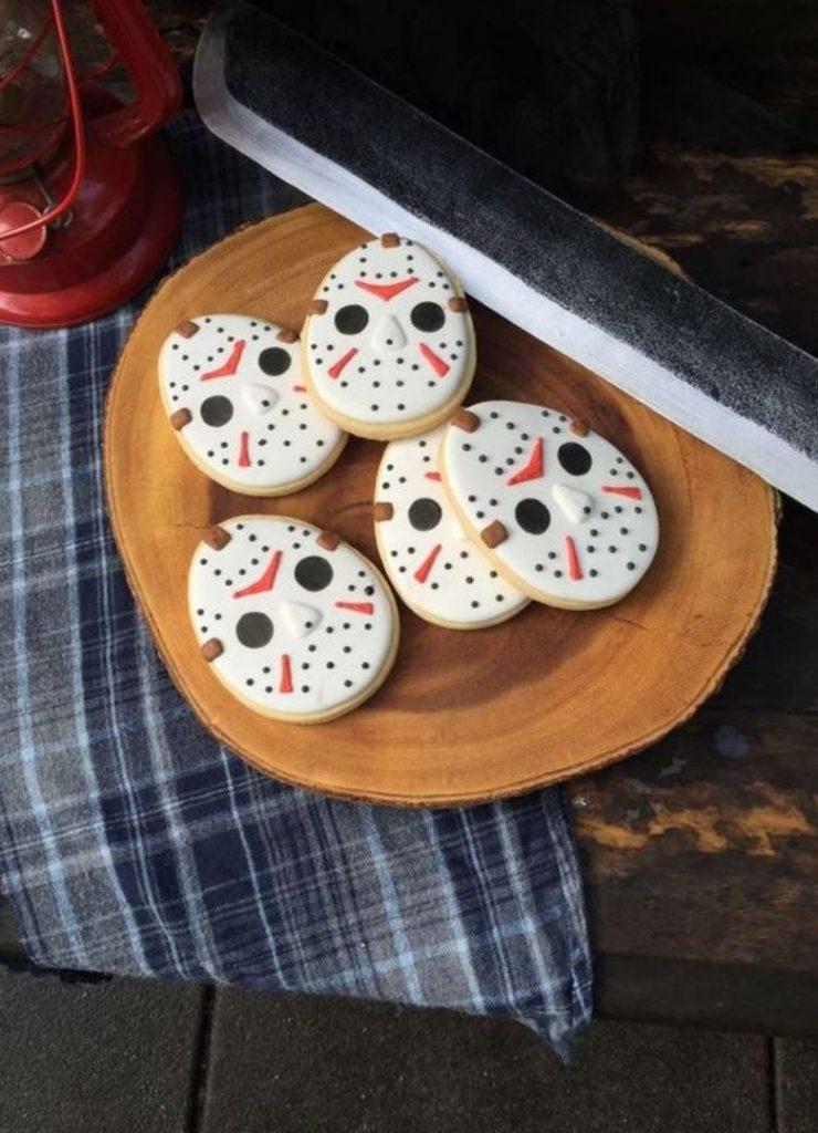 Doces de Halloween Jason