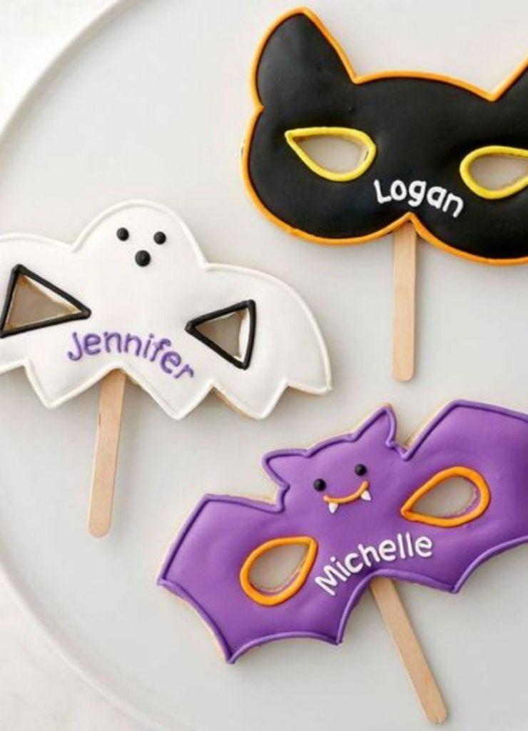 Doces de Halloween Máscaras