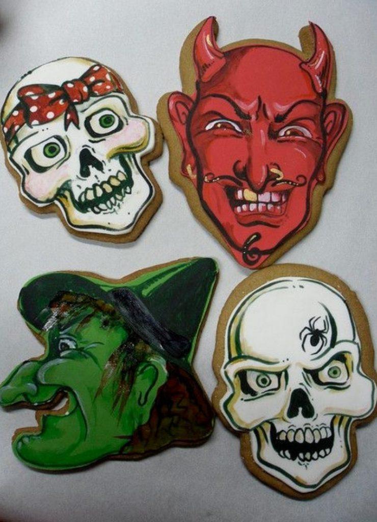 Doces de Halloween Monstros