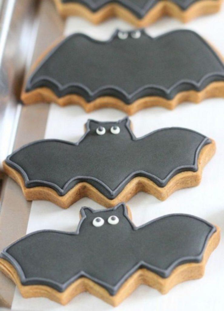 Doces de Halloween Morcegos