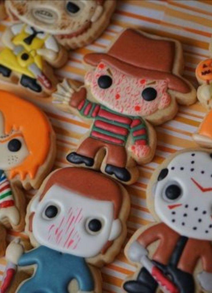 Doces de Halloween Personagens