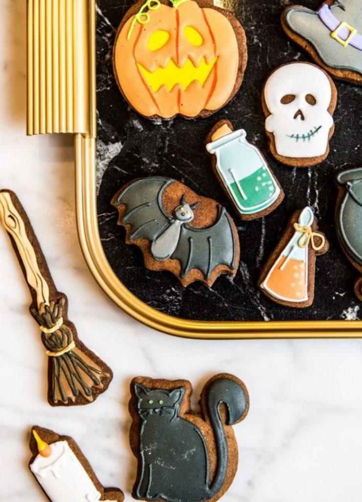 Doces de Halloween Símbolos