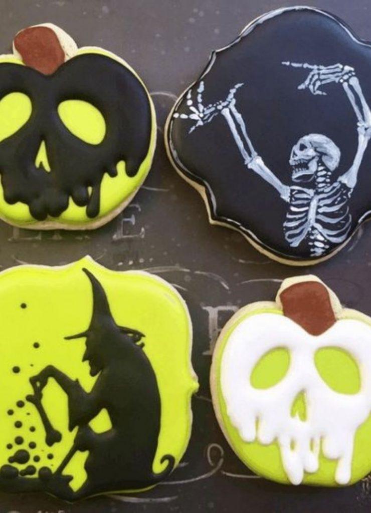 Doces de Halloween Venenoso