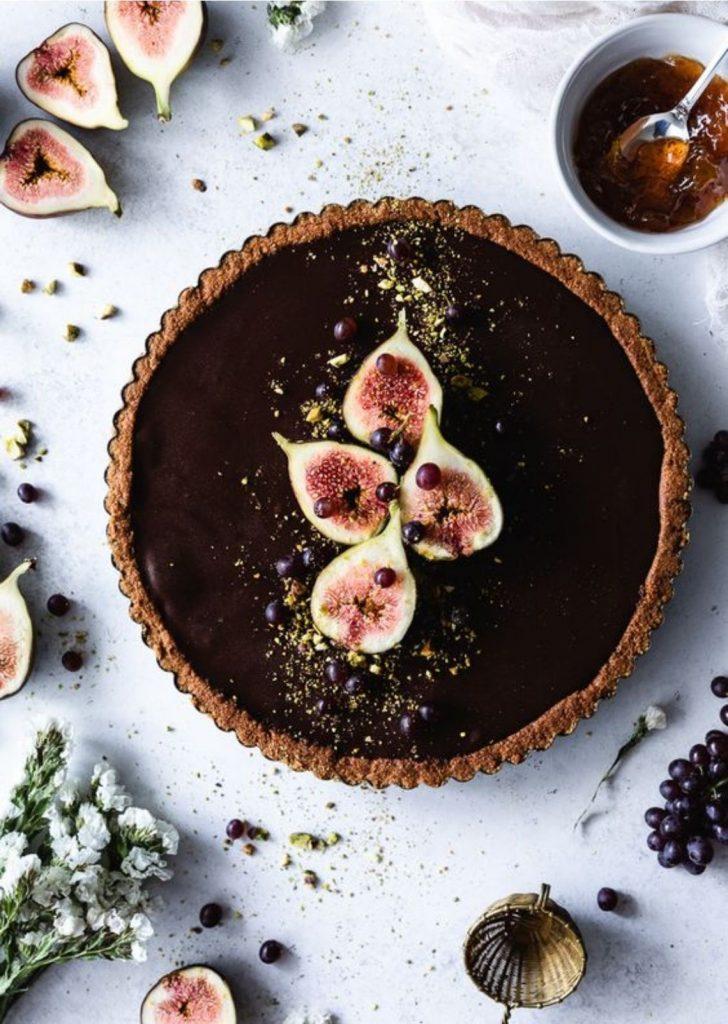 Tortas Doces Chocolate Figos