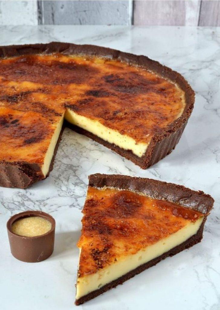 Tortas Doces Creme Brûlée