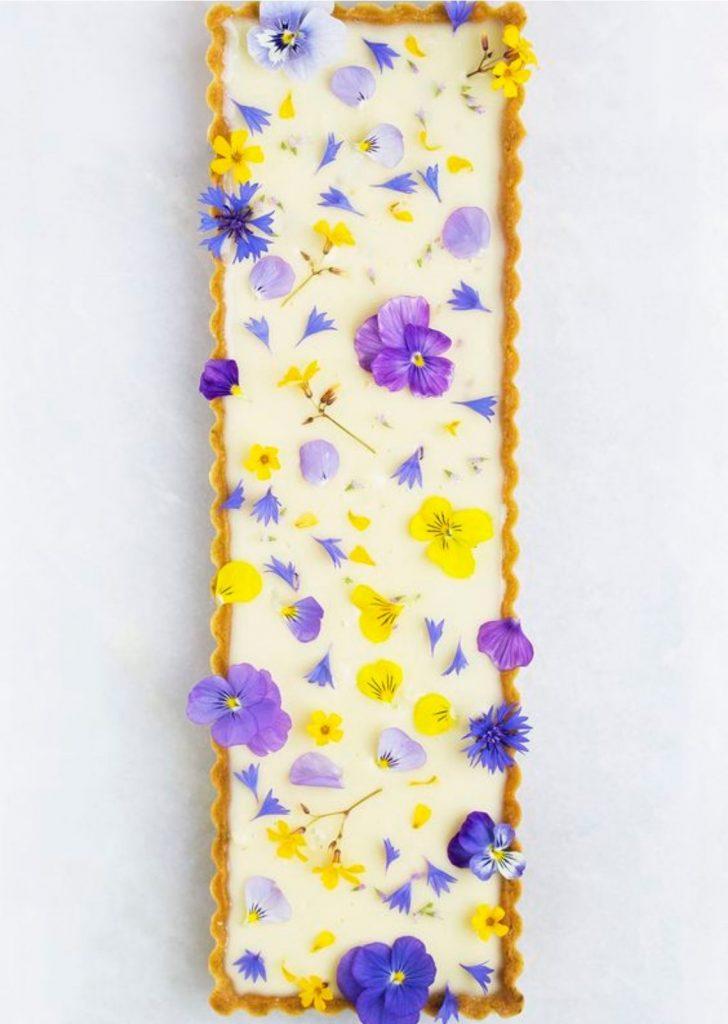 Tortas Doces Flores Comestíveis
