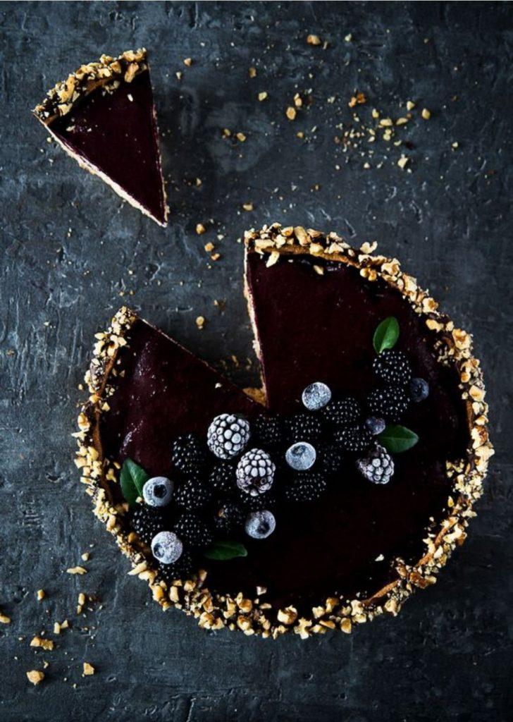 Tortas Doces Frutas Vermelhas