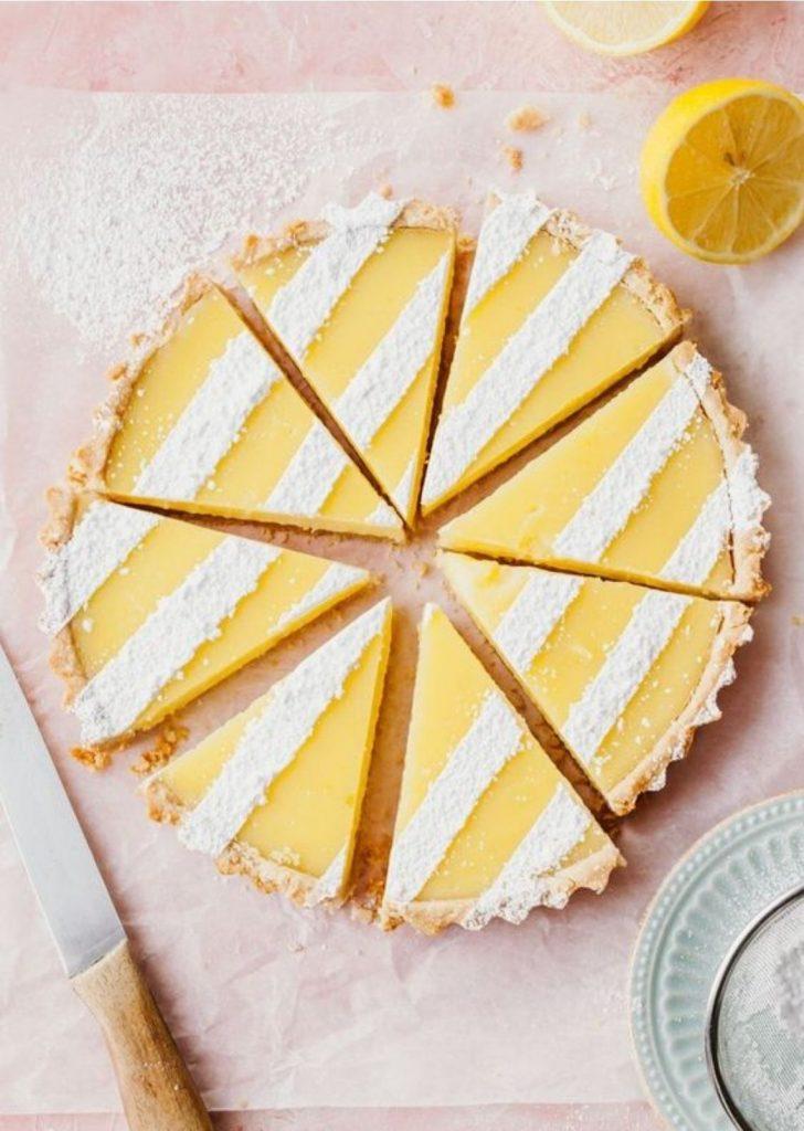 Tortas Doces Limão Siciliano
