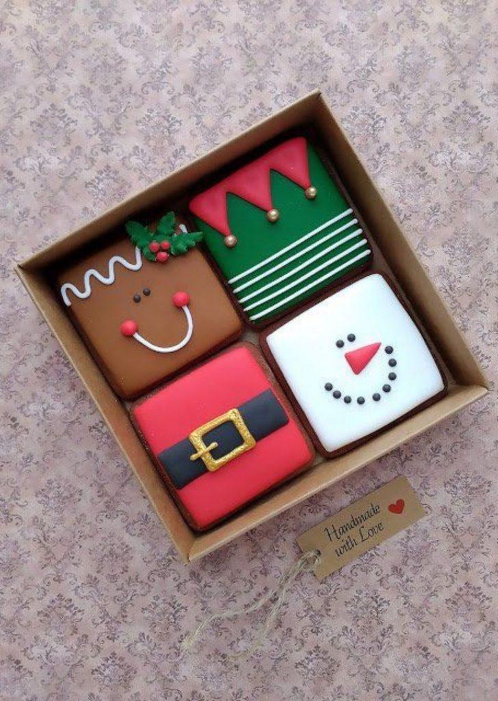 Brownie de Natal