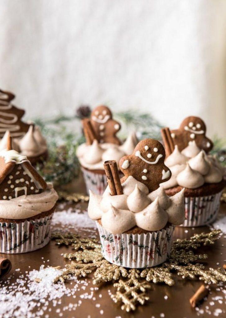 Cupcake de Gengibre