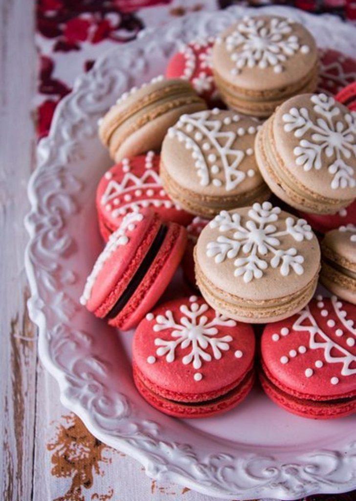 Macarons de Natal