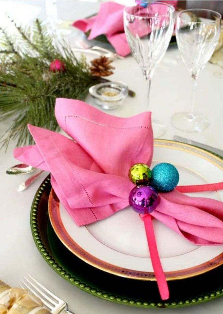 Mesa de Natal Colorida 3