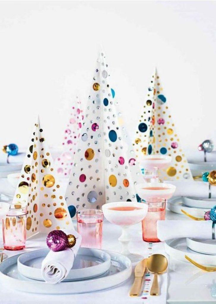 Mesa de Natal Colorido 4