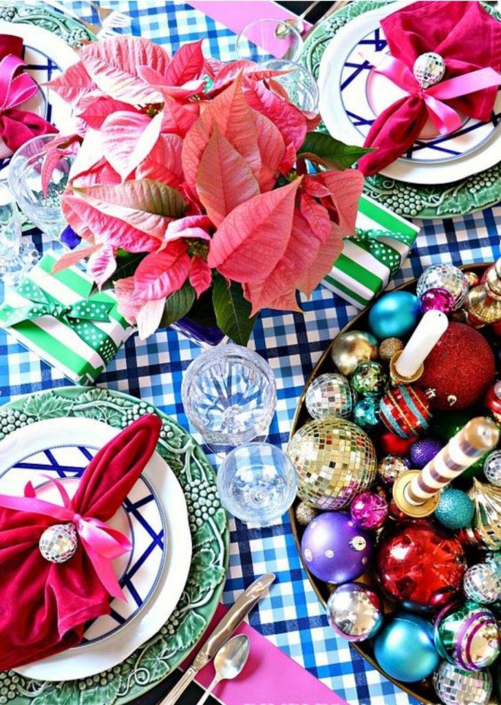 Mesa de Natal Colorido 5