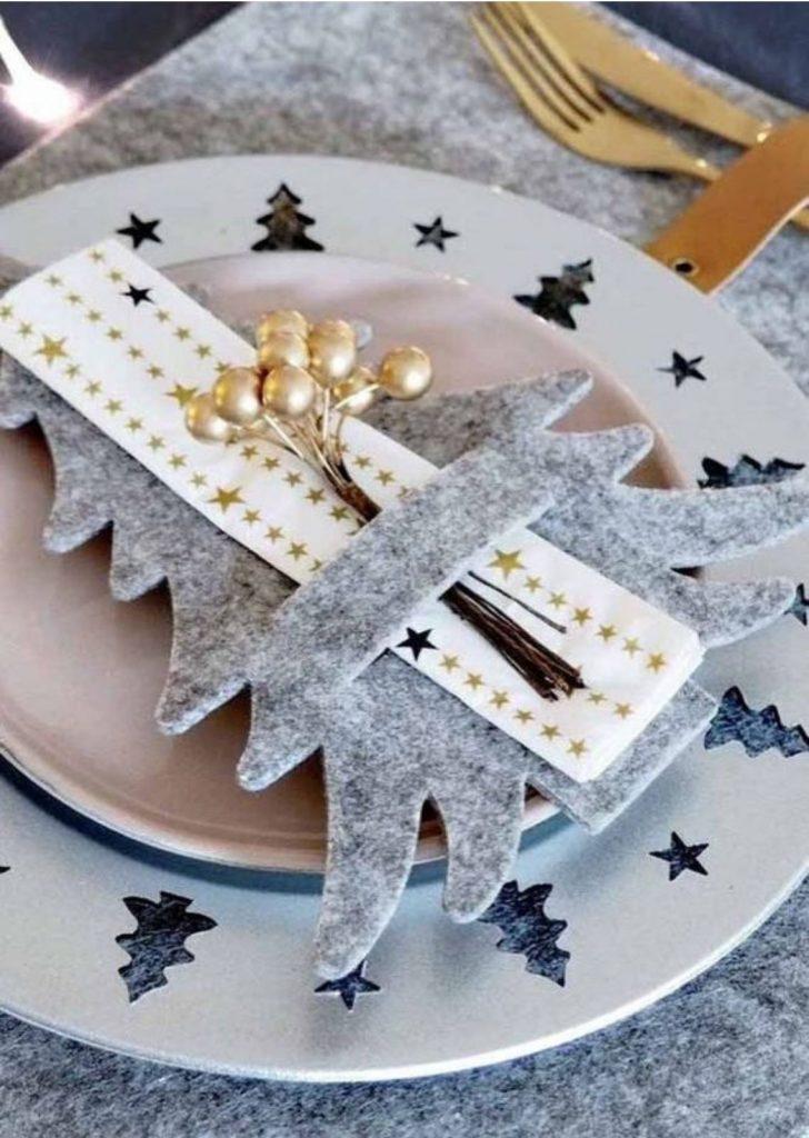 Mesa de Natal Feltro
