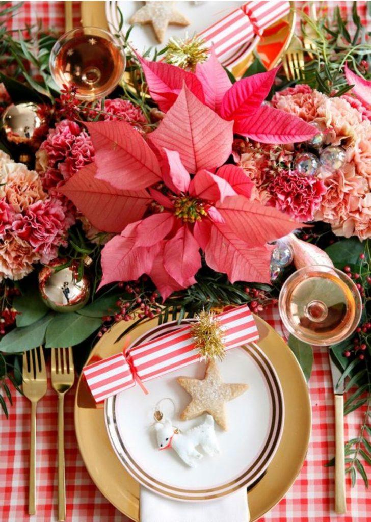 Mesa de Natal Flor-do-Natal
