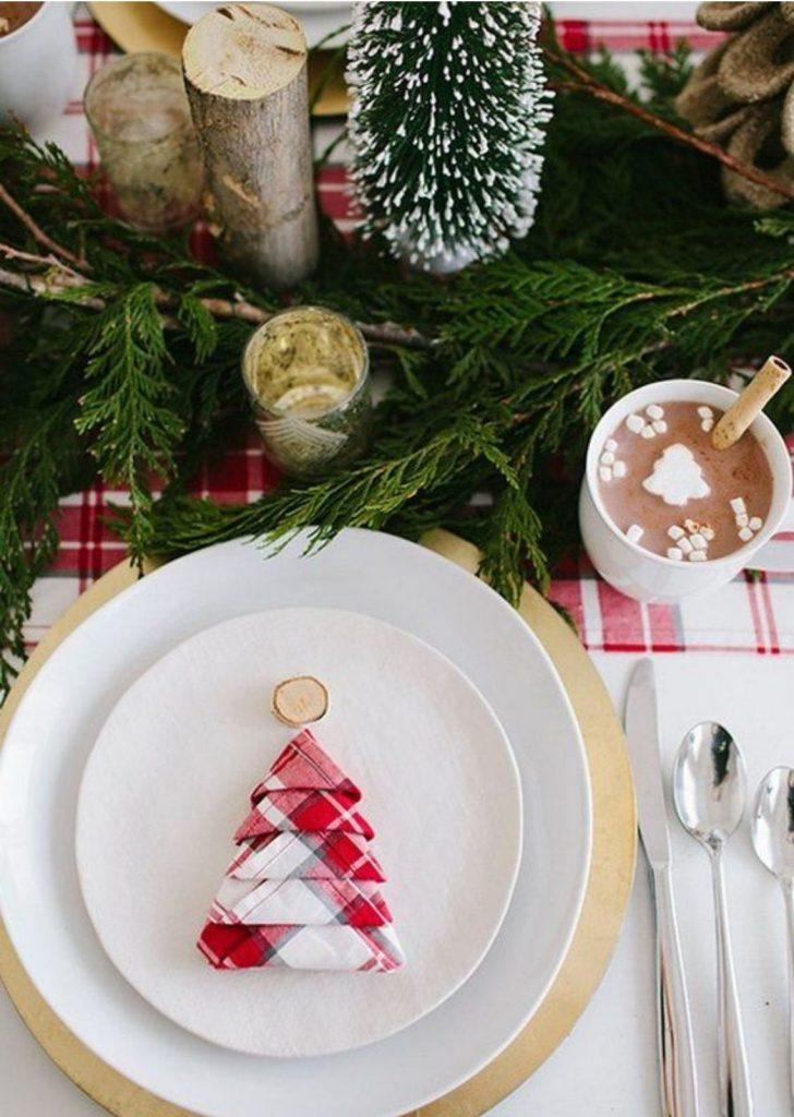 Mesa de Natal Guardanapo 3