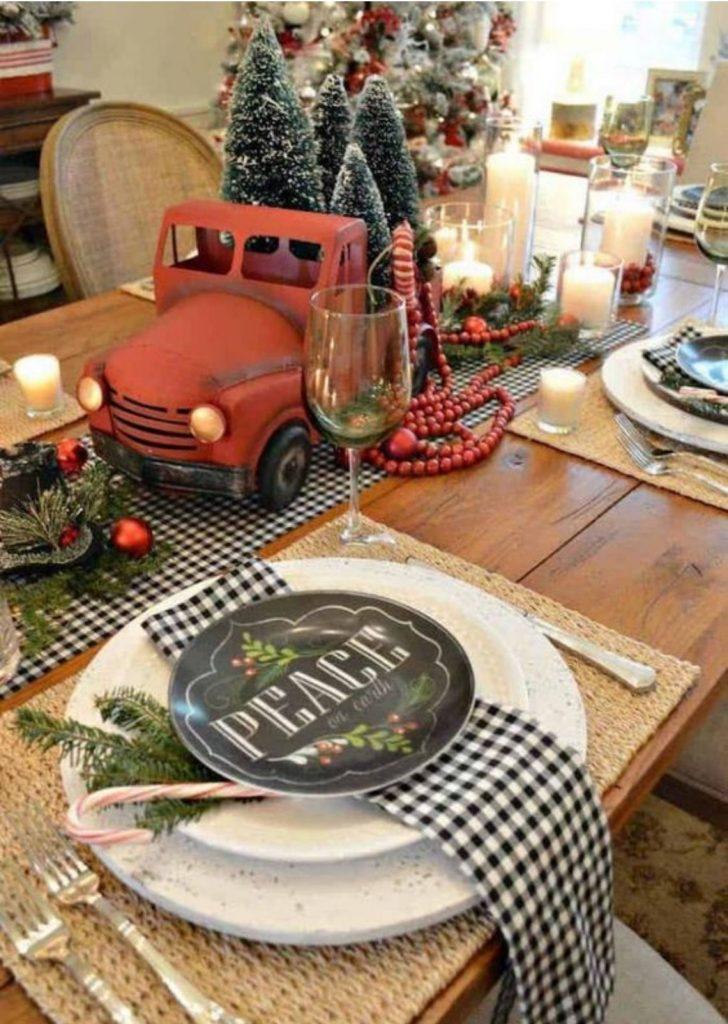 Mesa de Natal Objetos 3