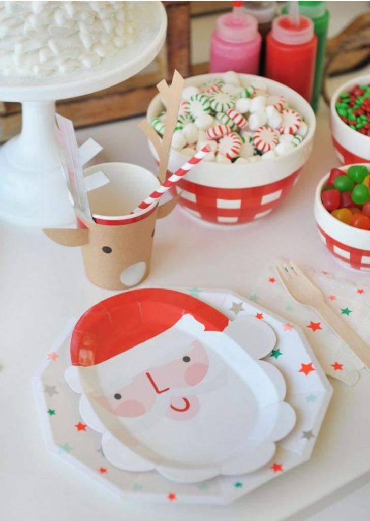 Mesa de Natal Papel 2