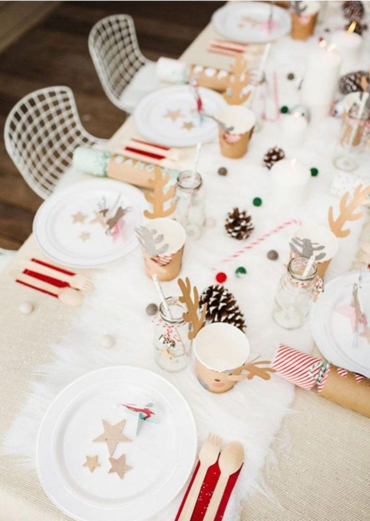 Mesa de Natal Papel 5