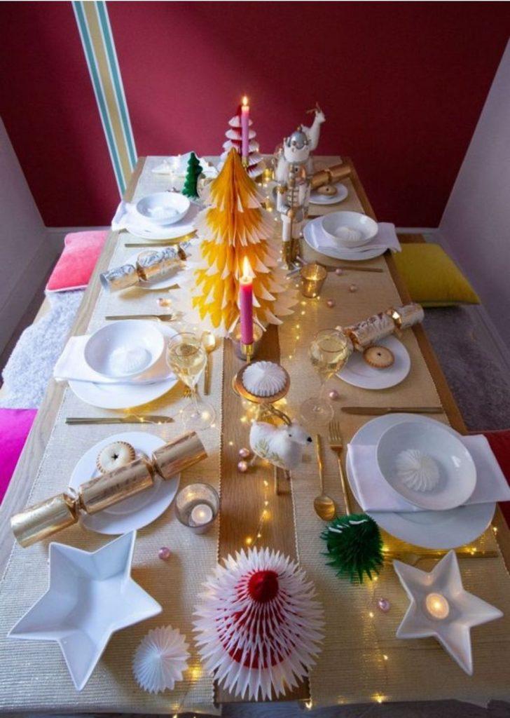Mesa de Natal Papel 6