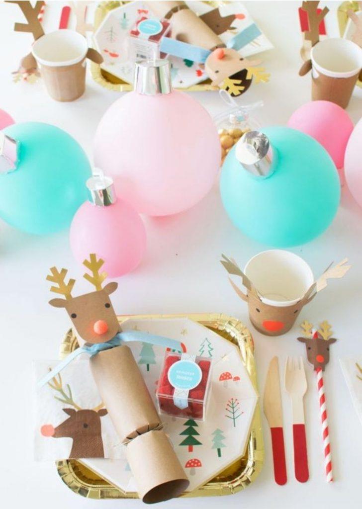 Mesa de Natal Papel