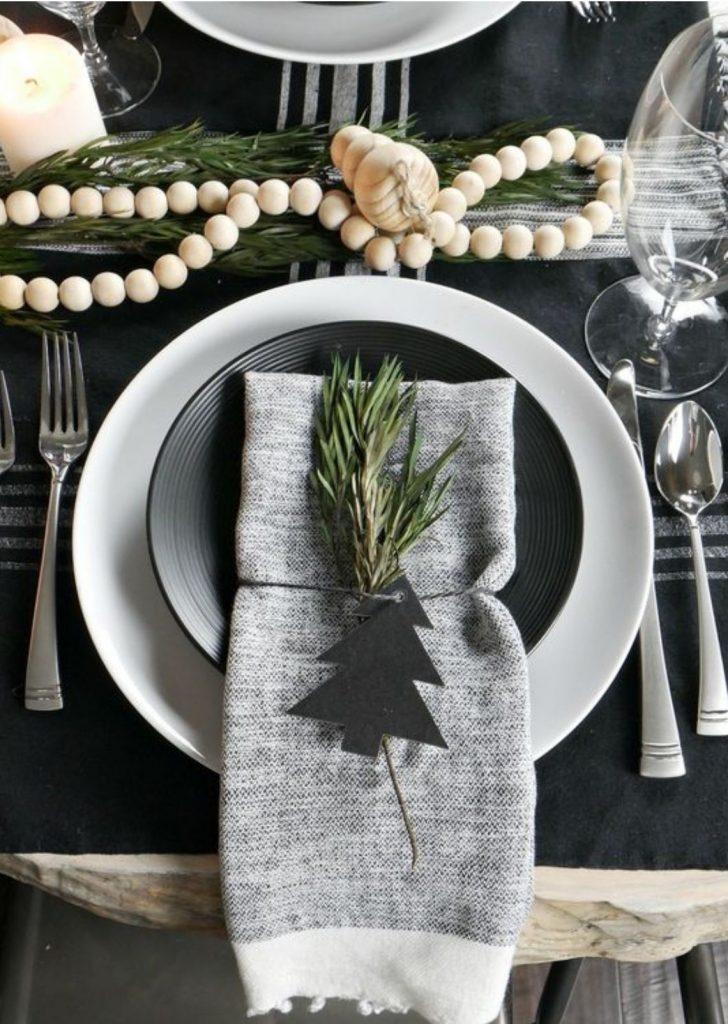 Mesa de Natal Simples 3