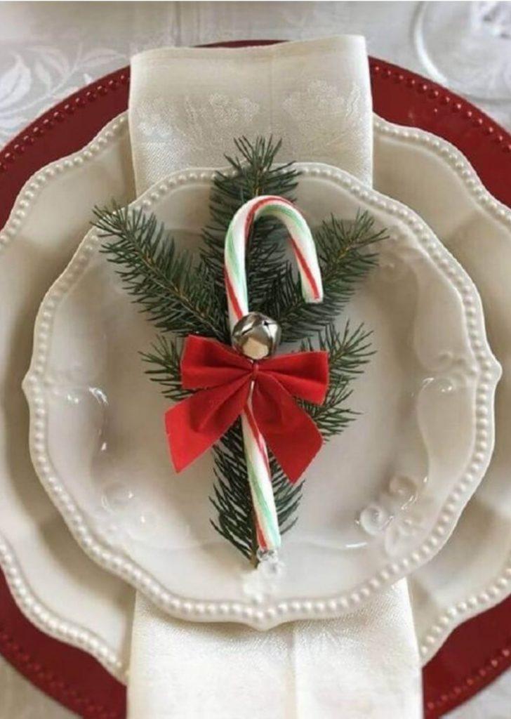 Mesa de Natal Simples 4