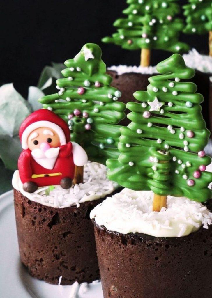 Muffin de Natal