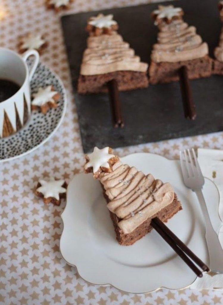 Pinheiros de Brownie 1