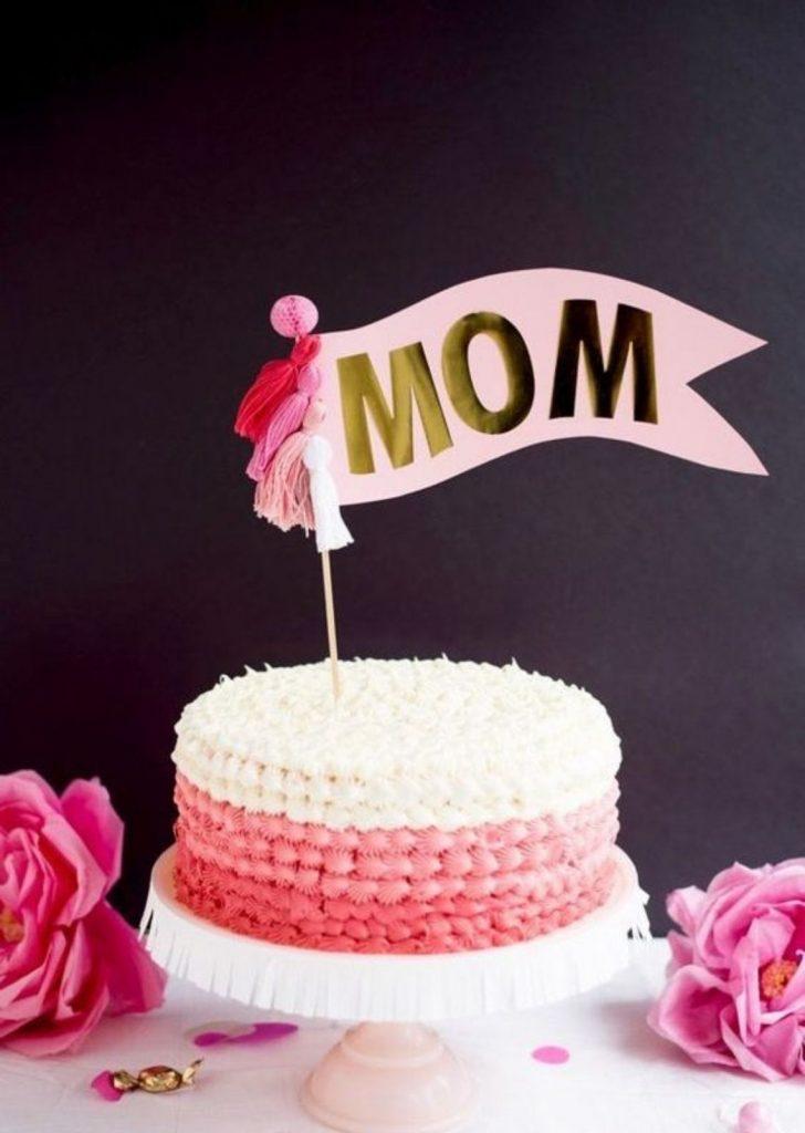 Bolo para Dia das Mães 7